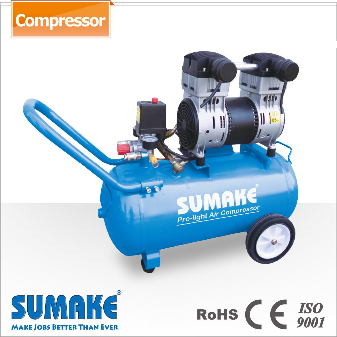 Silent Oil Free Air Compressor 2hp 50l Tank